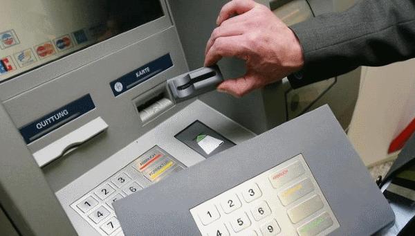 скиммер и накладная клавиатура для банкомата
