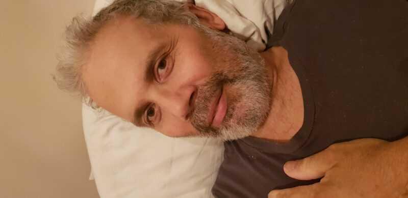Это мой муж в больнице