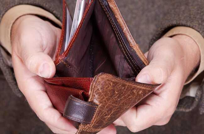 Что делать если нету денег вообще