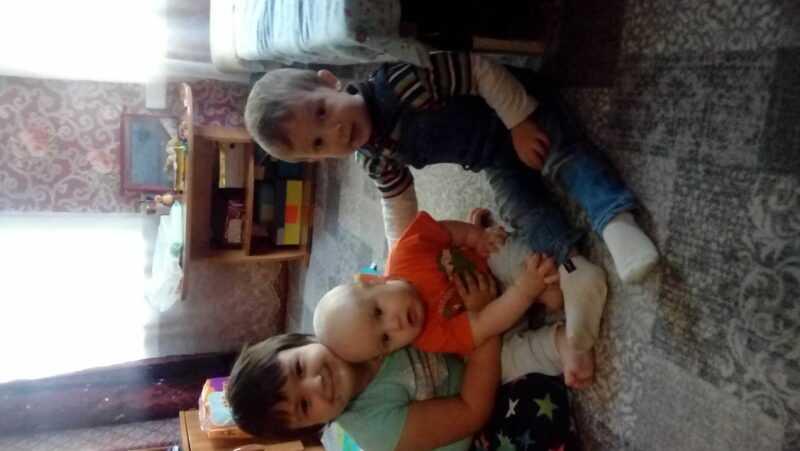 Мои младшие детки