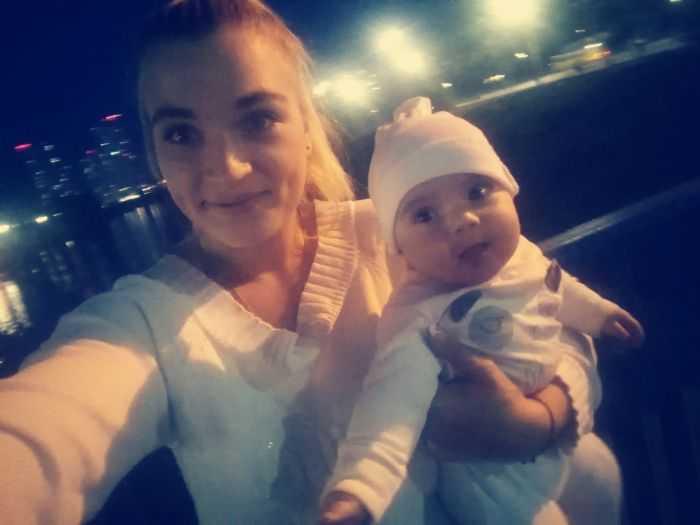 Я, и моя маленькая дочь!